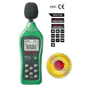 Digital Sound Level Meter Mastech MS6708