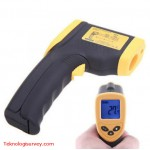 Infrared Thermometer Digital Digilife 550