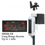 Weather Station RainWise MK-III Solar Wireless Pro With Black Base Unit