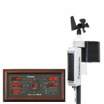 Weather Station RainWise MK-III Solar Wireless Pro With Mahogany Base Unit