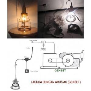 Lampu Celup Dasar Air LACUDA
