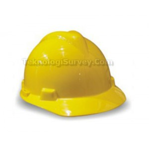 Safety Helmet KRISBOW Yellow